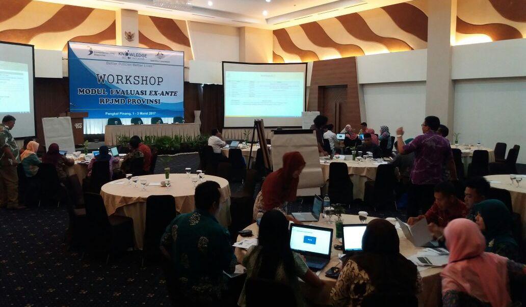 Workshop Pengembangan Modul Evaluasi Ex-Ante RPJMD Provinsi