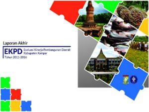 Cover EKPD Kabupaten Kampar
