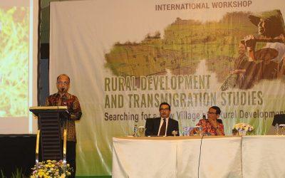 (Indonesia) International Workshop on Rural Development and Transmigration Studies