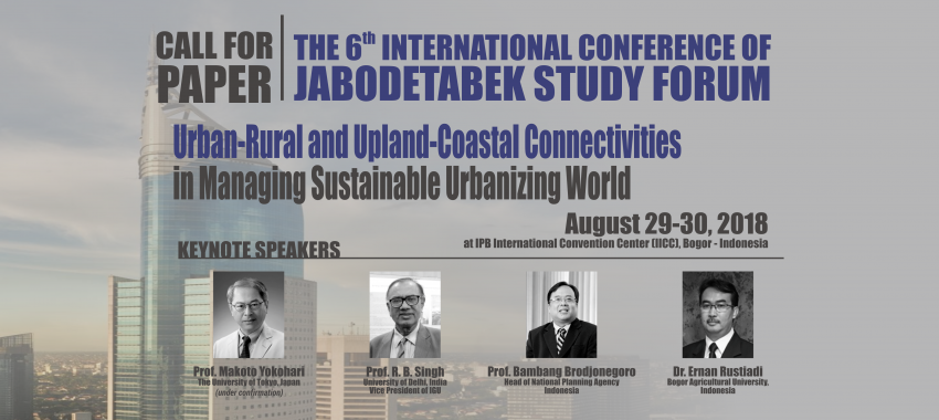 The 6th International Conference of Jabodetabek Study Forum