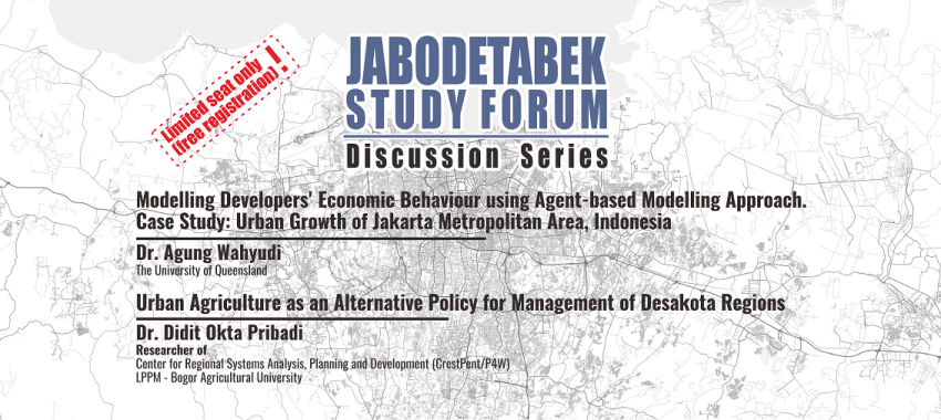 Jabodetabek Discussion Series in 2018