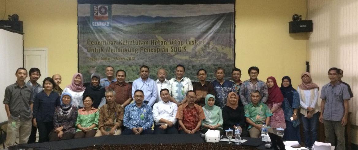 seminar perencanaan kawasan hutan