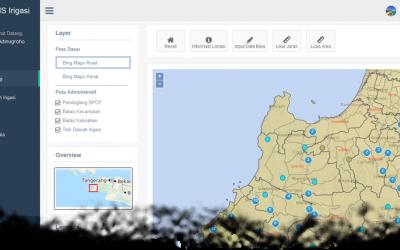 Penyusunan Sistem Informasi / Database Irigasi di Kabupaten Pandeglang