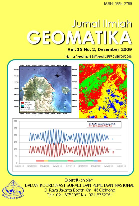 jurnal ilmiah geomatika vol 15