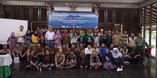 """(Indonesia) Ekspos Program  """"Aksi Penyelamatan Kawasan Puncak Sebagai Hulu DAS Ciliwung"""""""