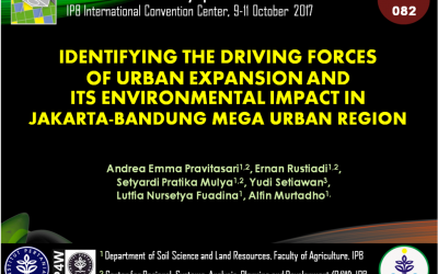 Identifying the Driving Forces of Urban Expansion and Its Environmental Impact in Jakarta-Bandung Mega Urban Region