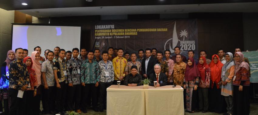 """Lokakarya Penyusunan Dokumen Rencana Pembangunan Daerah Kabupaten Kepulauan Anambas """"Anambas 2020"""""""