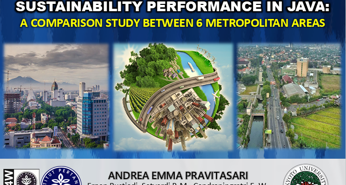 Measuring Urban and Regional Sustainability Performance in Java: a Comparison Study Between 5 Metropolitan Areas