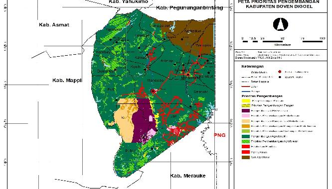 Inventarisasi Potensi Investasi di Kabupaten Boven Digoel