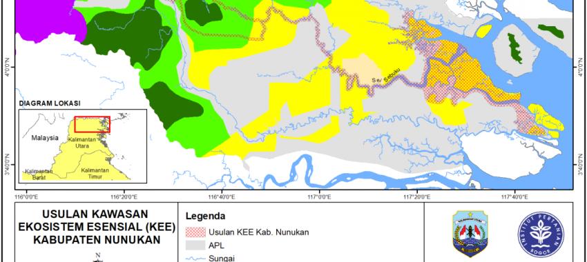 Penyusunan Kawasan Ekosistem Essensial di Provinsi Kalimantan Utara
