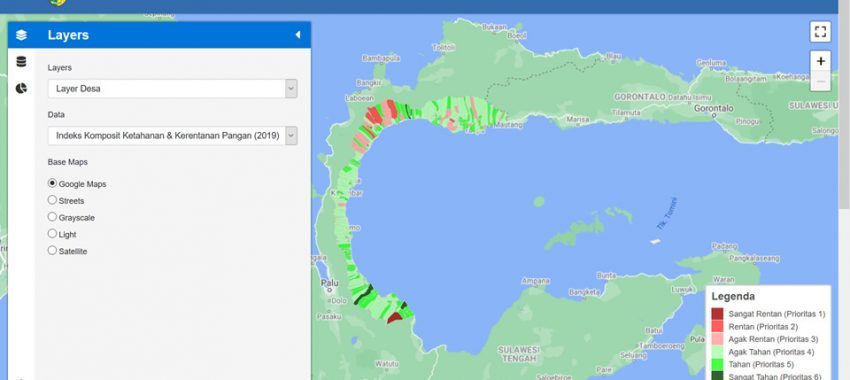 Pelatihan Sistem Informasi Data Pembangunan Daerah Kabupaten Parigi Moutong
