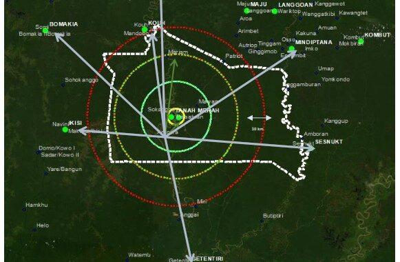 Penyusunan Masterplan Kota Satelit Mandobo