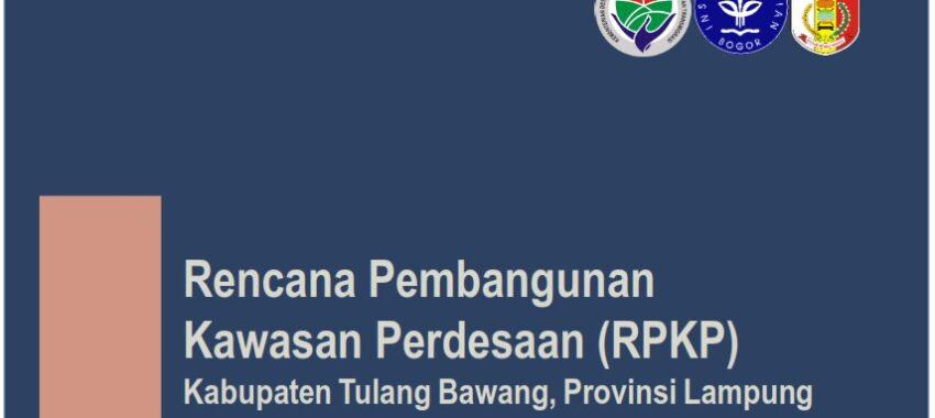 Rencana Pembangunan Kawasan Perdesaan Kabupaten Tulang Bawang, Provinsi Lampung